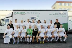 M. Sander Transporte ... Der Bringer unterstützt den ESV Frillendorf