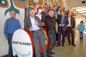 "M. Sander Transporte ist ""Echt Klasse"""